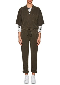 NSF Women's Kimono-Inspired Stretch-Twill Jumpsuit