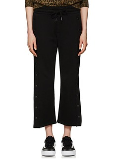 NSF Women's Kobe Side-Snap Cotton Sweatpants