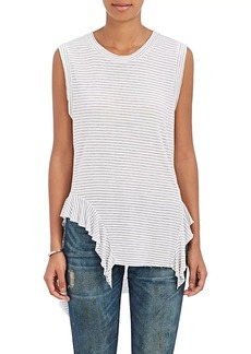 NSF Women's Lea Striped Ruffle Tank