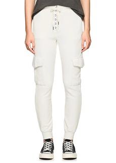 NSF Women's Minji Lace-Up Cotton Sweatpants