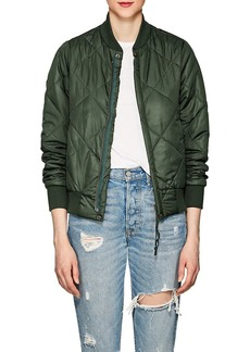 NSF Women's Neil Quilted Tech-Fabric Bomber Jacket
