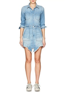 NSF Women's Neva Frayed Denim Dress