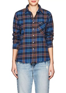 NSF Women's Plaid Cotton Shirt