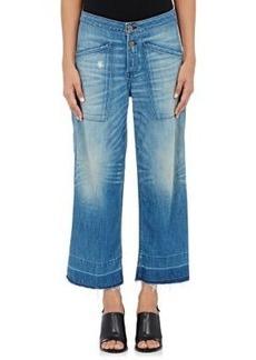 NSF Women's Quarry Denim Culotte Pants