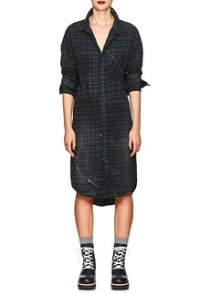 NSF Women's Rhodes Checked Cotton Flannel Dress