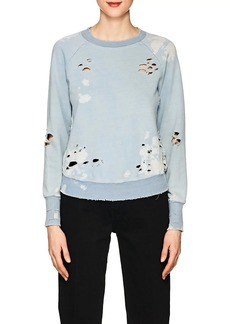 NSF Women's Saguro Distressed Cotton Sweatshirt