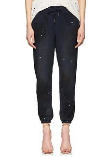 NSF Women's Sayde Paint-Splattered Cotton Sweatpants