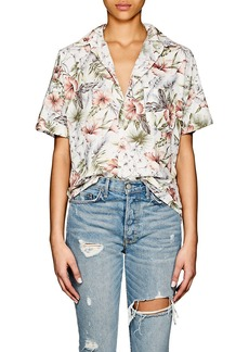 NSF Women's Tanis Floral Cotton Blouse