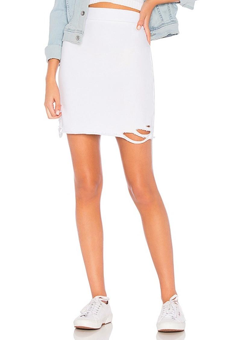 NSF x REVOLVE Adalia Destroyed Skirt