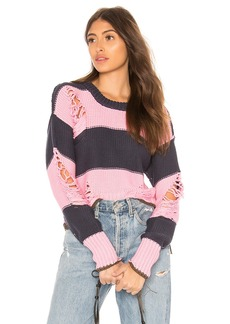 NSF Presley Destroyed Sweater