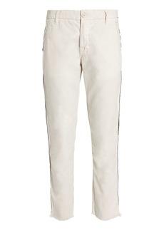 NSF Side Tape Ivory Chino Pants