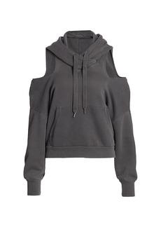 NSF Tricia Cold-Shoulder Hoodie