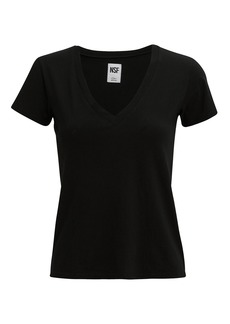 NSF V-Neck Black T-Shirt