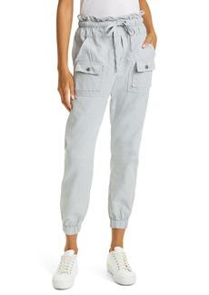 Women's Nsf Clothing Paperbag Waist Pants