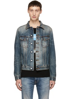 Nudie Jeans Blue Billy Joakim Replica Denim Jacket