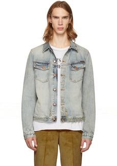 Nudie Jeans Blue Denim Kenny Salvatore Replica Jacket