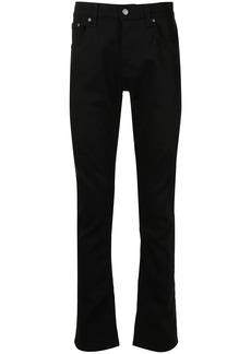 Nudie Jeans Grim Tim mid-rise straight-leg jeans