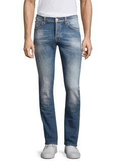 Nudie Jeans Grim Tim Stretch Slim Fit Jeans