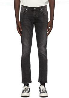 Nudie Jeans Black Grim Tim Jeans