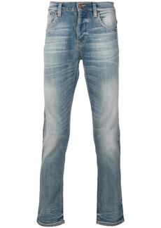 Nudie Jeans Co Grim Tim slim-fit jeans - Blue