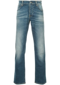 Nudie Jeans Co straight-leg washed jeans - Blue