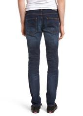 Nudie Jeans Lean Dean Slouchy Skinny Fit Jeans (Ink Navy)