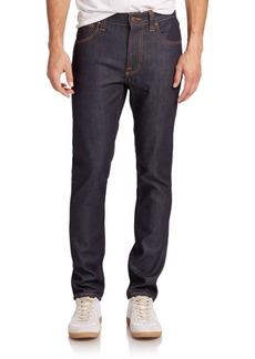 Nudie Jeans Lean Dean Straight-Leg Jeans