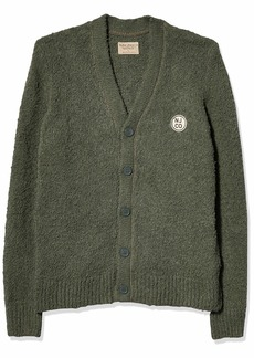 Nudie Jeans Men's PIM NJCO Circle Cardigan S