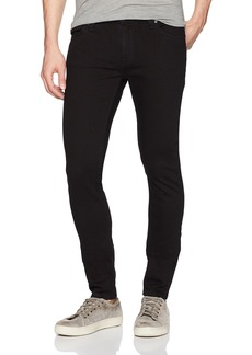 Nudie Jeans Men's Skinny Lin Black 27/34