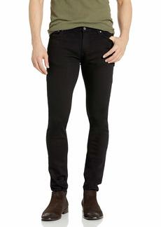 Nudie Jeans Men's Skinny Lin Black 34/32