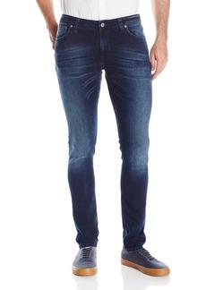 Nudie Jeans Men's Skinny Lin Blackend  27x32