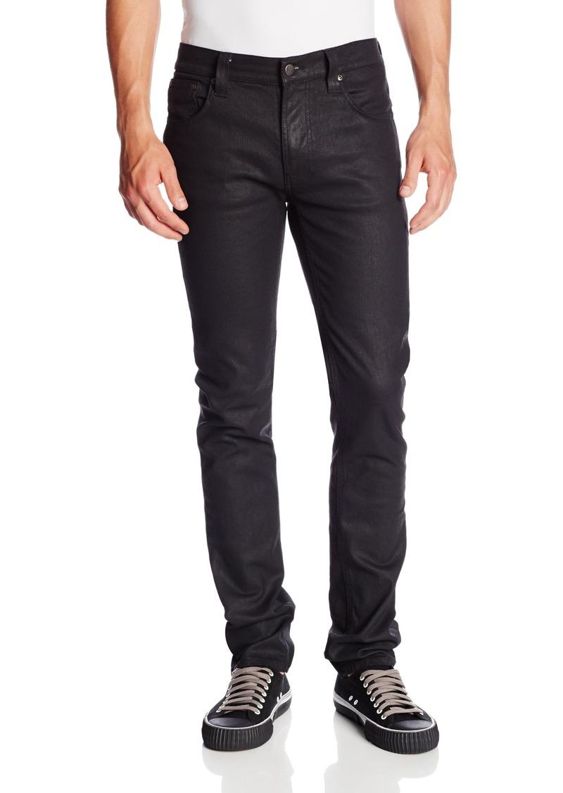 nudie jeans nudie jeans men 39 s thin finn jean in back 2 black 38x34 jeans shop it to me. Black Bedroom Furniture Sets. Home Design Ideas