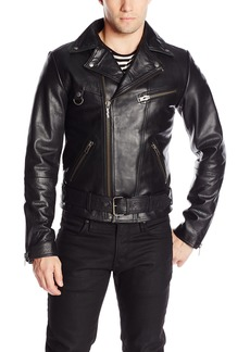 Nudie Jeans Men's Ziggy Punk Leather Jacket