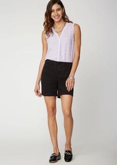 NYDJ 7 Inch 5 Pocket Shorts - Black - 16 - Also in: 6, 12, 4, 10