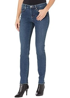 NYDJ Alina Legging Jeans with Fray Hem in Clean Reverence