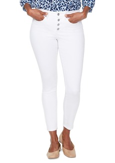 NYDJ Ami Exposed Button Fly Ankle Jeans