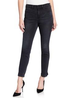 NYDJ Ami Skinny Ball Trim Ankle Jeans