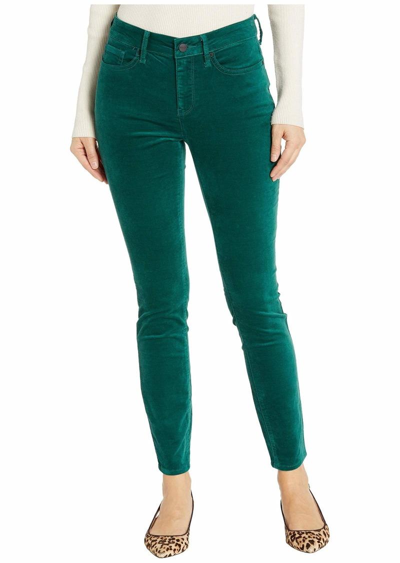 NYDJ Ami Skinny Velvet Jeans in Mountain Pine