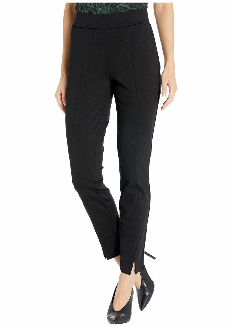 NYDJ Basic Leggings with Front Slit in Black