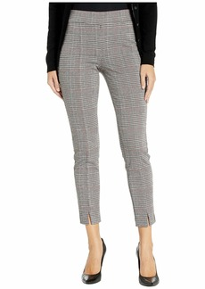 NYDJ Basic Leggings with Front Slit in Winchester Plaid