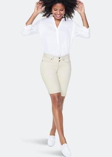 NYDJ Briella 11 Inch Jean Shorts - Feather - 14 - Also in: 10, 8