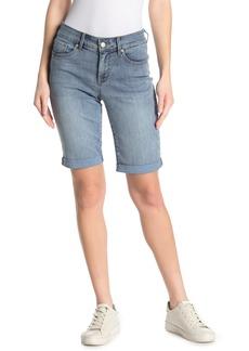 NYDJ Briella Rolled Cuff Bermuda Shorts
