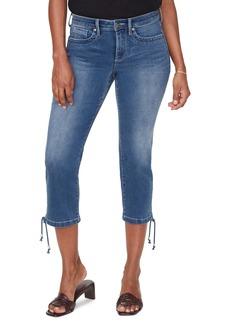 NYDJ Capri w/ Drawcord Hem Jeans
