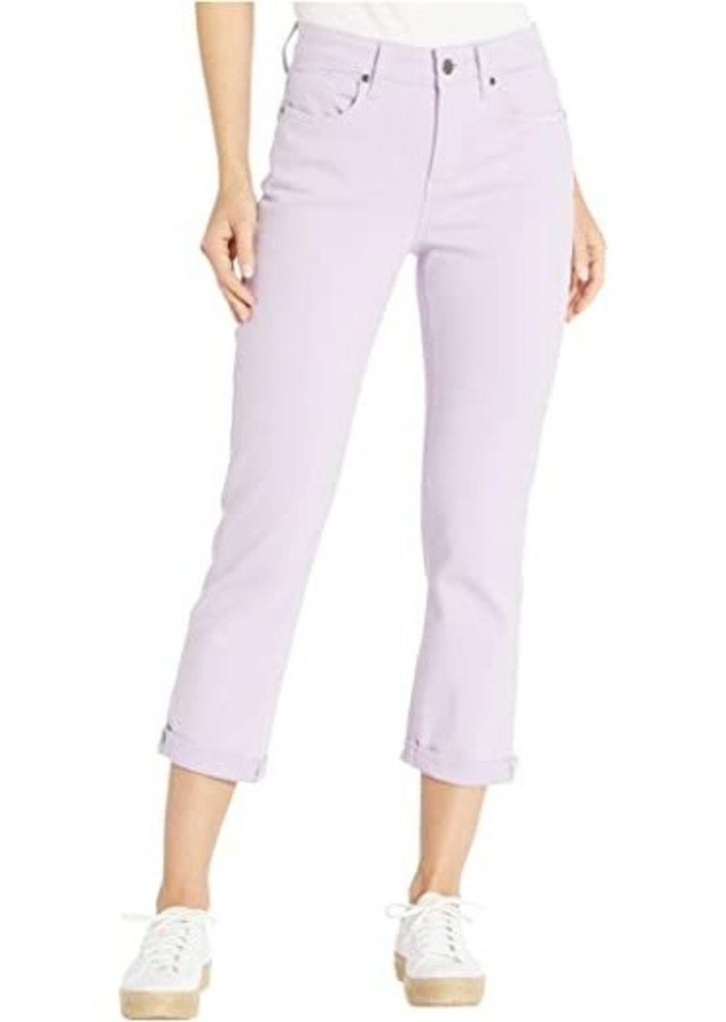 NYDJ Chloe Capri Jeans in Lilac Breeze