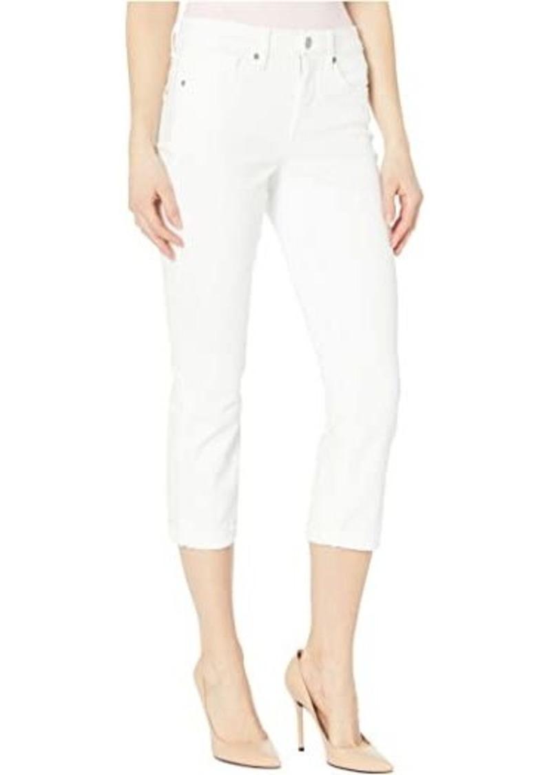 NYDJ Chloe Capri Jeans in Optic White