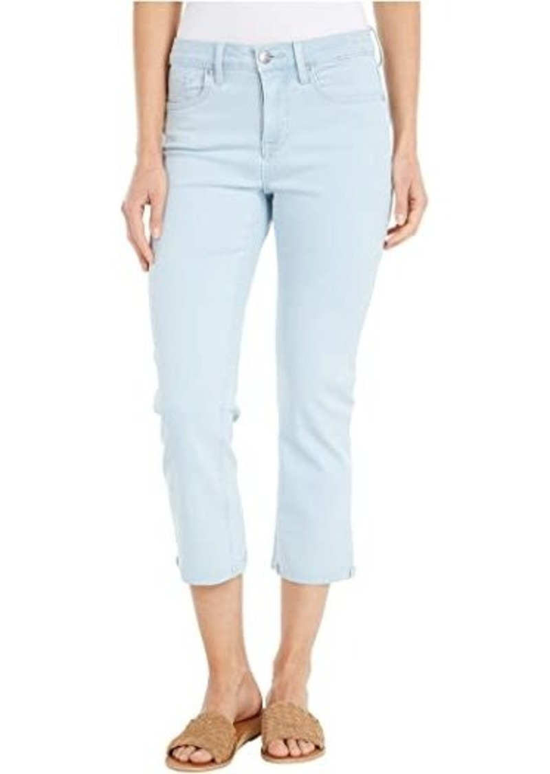 NYDJ Chloe Capri Jeans with Raw Cuffs in Valhalla
