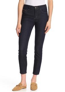 NYDJ Clarissa Stretch Ankle Skinny Jeans (Dark Enzyme)