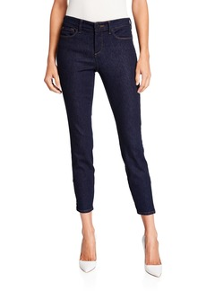 NYDJ Dylan Skinny Ankle Jeans With Zipper Hem