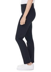 NYDJ Everyday Windowpane Grid Tapered Trousers