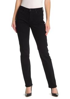 NYDJ Geo Shine Marilyn Straight Leg Jeans
